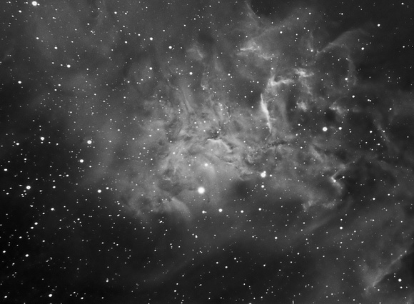 IC 405 The Flaming Star