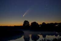 Beccles and Comet Neowise